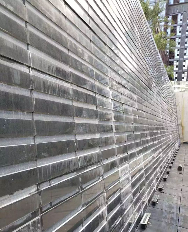 易县黑流水石工程展示